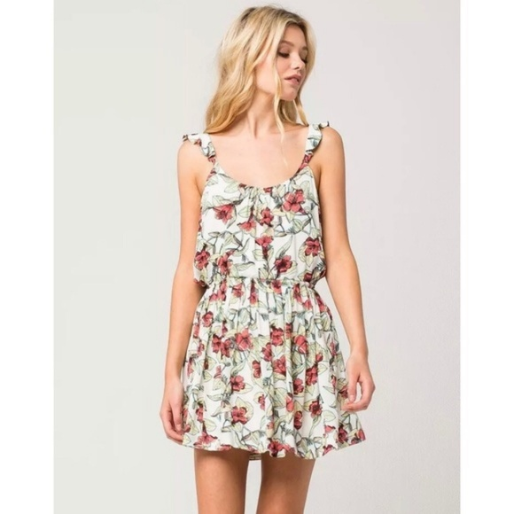 Free People Dresses & Skirts - Free People Floral Dress/Hibiscus Flowers/Hawaiian